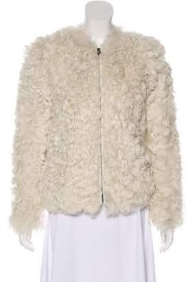 Isabel Marant Shearling Zip-Up Jacket