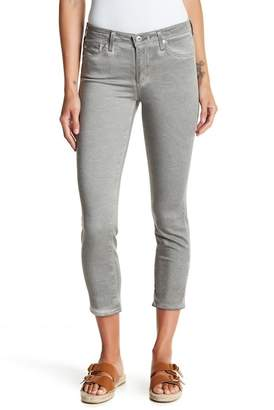 AG Jeans Prima Mid Rise Crop Skinny Jeans