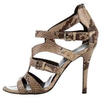 Giuseppe Zanotti Embossed Cutout Sandals