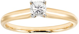 Evergreen Diamonds 1/2 Carat T.W. IGL Certified Lab-Created Diamond Solitaire Engagement Ring