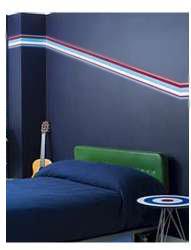 Wallcandy Blue Stripes Wall Decals