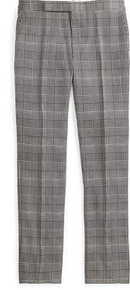 Ralph Lauren Glen Plaid Silk Trouser