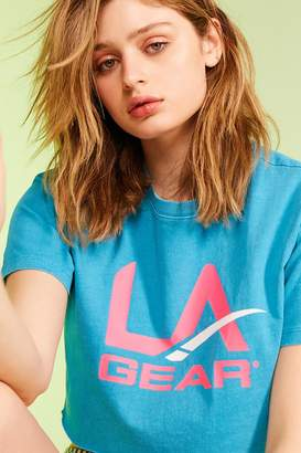 Forever 21 L.A. Gear Cropped Tee