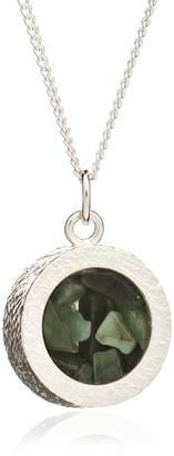 Rachel Jackson London Amulet Birthstone Necklace Silver May