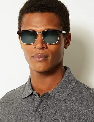 Marks and Spencer Polarised Retro Square Sunglasses