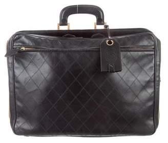Chanel Calfskin Quilted Briefcase