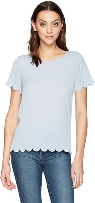 French Connection Women's Classic Crepe Light Polly Tops