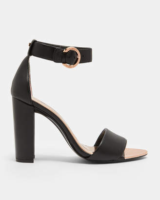 SECOA2 Double strap leather sandals