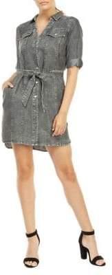 Dex Classic Short-Sleeve Shirtdress
