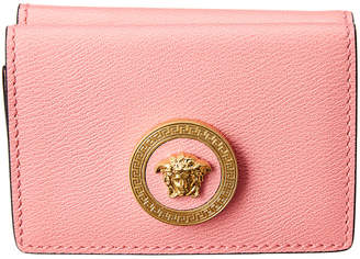 Versace Small Medusa Leather Flap Wallet