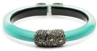 Alexis Bittar Crystal Embellished Bangle Bracelet