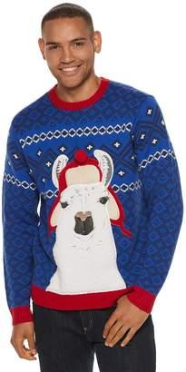 Men's Llama Christmas Sweater