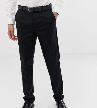 Burton Menswear Big & Tall skinny trousers in black