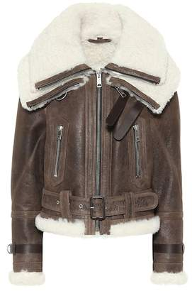 Burberry Reissued 2010 shearling jacket