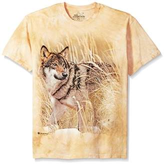 The Mountain Winter Wolf Portrait Adult T-Shirt,4XL