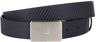 Dunhill Reversible Diagonal Leather Belt