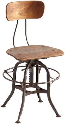 Rejuvenation Toledo Factory Chair w/ Plywood Saddle Seat