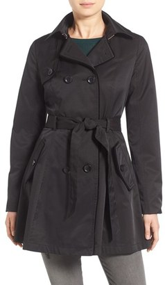 Betsey Johnson Corset Back Trench Coat $198 thestylecure.com