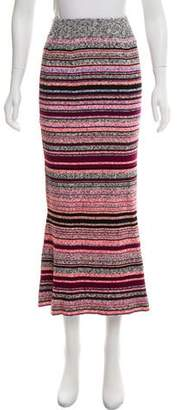 Tanya Taylor Mélange Striped Skirt w/ Tags