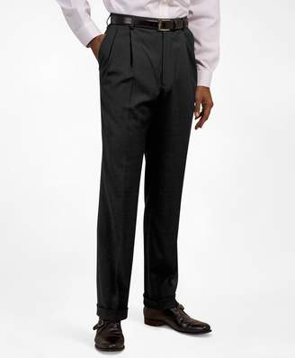 Brooks Brothers Pleat-Front Suiting Essential Trousers
