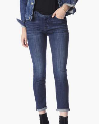 7 For All Mankind Josefina in Bordeaux Broken Twill