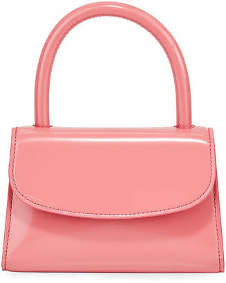 BY FAR Patent Leather Top Handle Bag