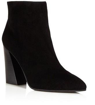 Kenneth Cole Gladis Flared Block Heel Booties $180 thestylecure.com