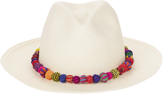 Valdez Panama Ayampe Pom-Pom Trim Hat $365 thestylecure.com