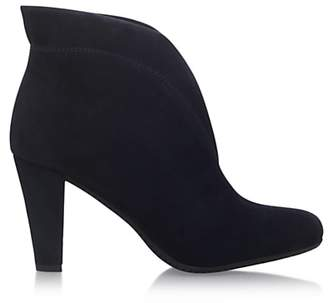 Carvela Comfort Rida Cut Out Ankle Boots, Navy