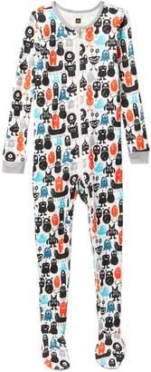 Tea Collection Monster Terrific Footie Pajama (Baby & Toddler Boys)