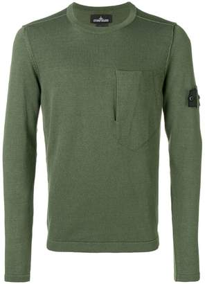 Stone Island Shadow Project concealed pocket sweater
