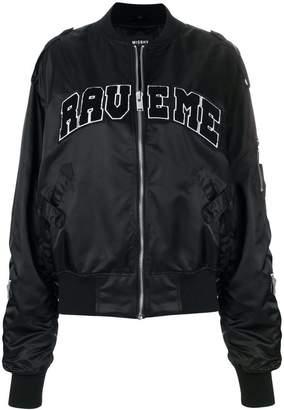 Misbhv Rave me bomber jacket