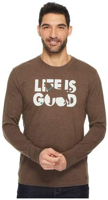 Life is Good Fetch Men's Short Sleeve Pullover