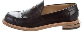 Band Of Outsiders Leather Kiltie Loafers
