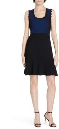 Diane von Furstenberg Adi Ribbed Knit Dress