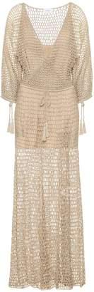 Anna Kosturova Stevie crochet maxi dress