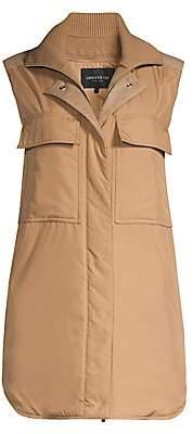 Lafayette 148 New York Women's Willis Longline Utilitarian Vest