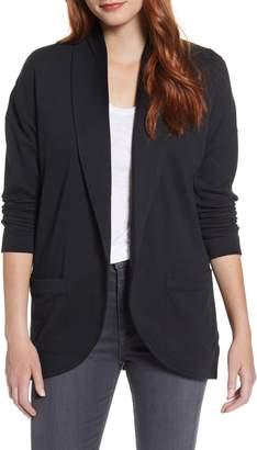 Caslon Textured Knit Jacket