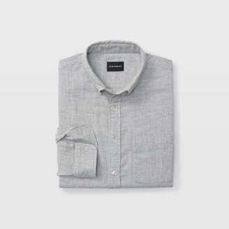 Club Monaco Slim Double-Faced Gray Shirt