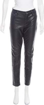 Blank NYC Vegan Leather Mid-Rise Pants