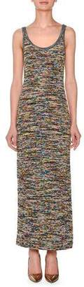 Missoni Sleeveless Scoop-Neck Space-Dye Long Dress