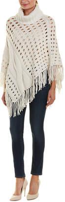 Autumn Cashmere Cashmere & Wool-Blend Poncho