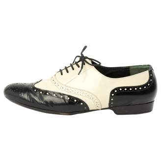 Robert Clergerie Black Leather Lace ups