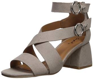 Qupid Women's Cray-06 Heeled Sandal