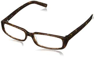 Corinne McCormack Women's Sherry Rectangular Reading Glasses