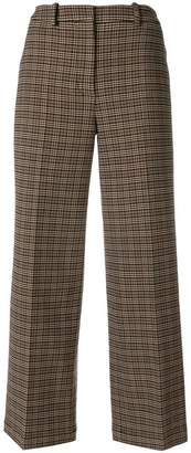 Ports 1961 cropped check trousers
