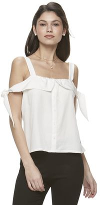 Juniors' Candie's® Off The Shoulder Top $34 thestylecure.com