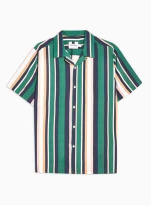 Topman Mens Multi Pastel Miami Revere Shirt