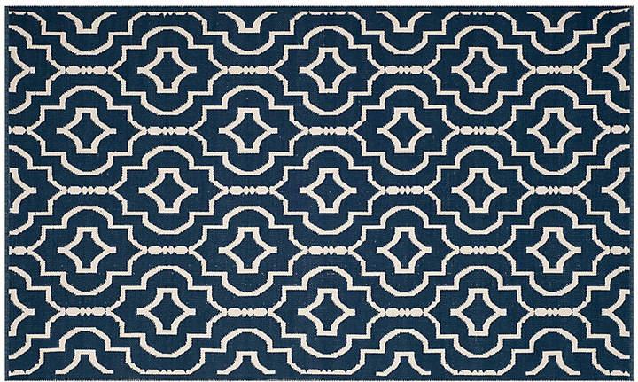 Fanaka Rug – Navy/Ivory – 3'x5′
