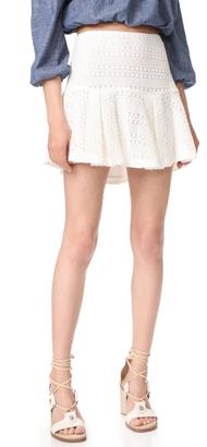 Derek Lam 10 Crosby Flared Skirt $325 thestylecure.com